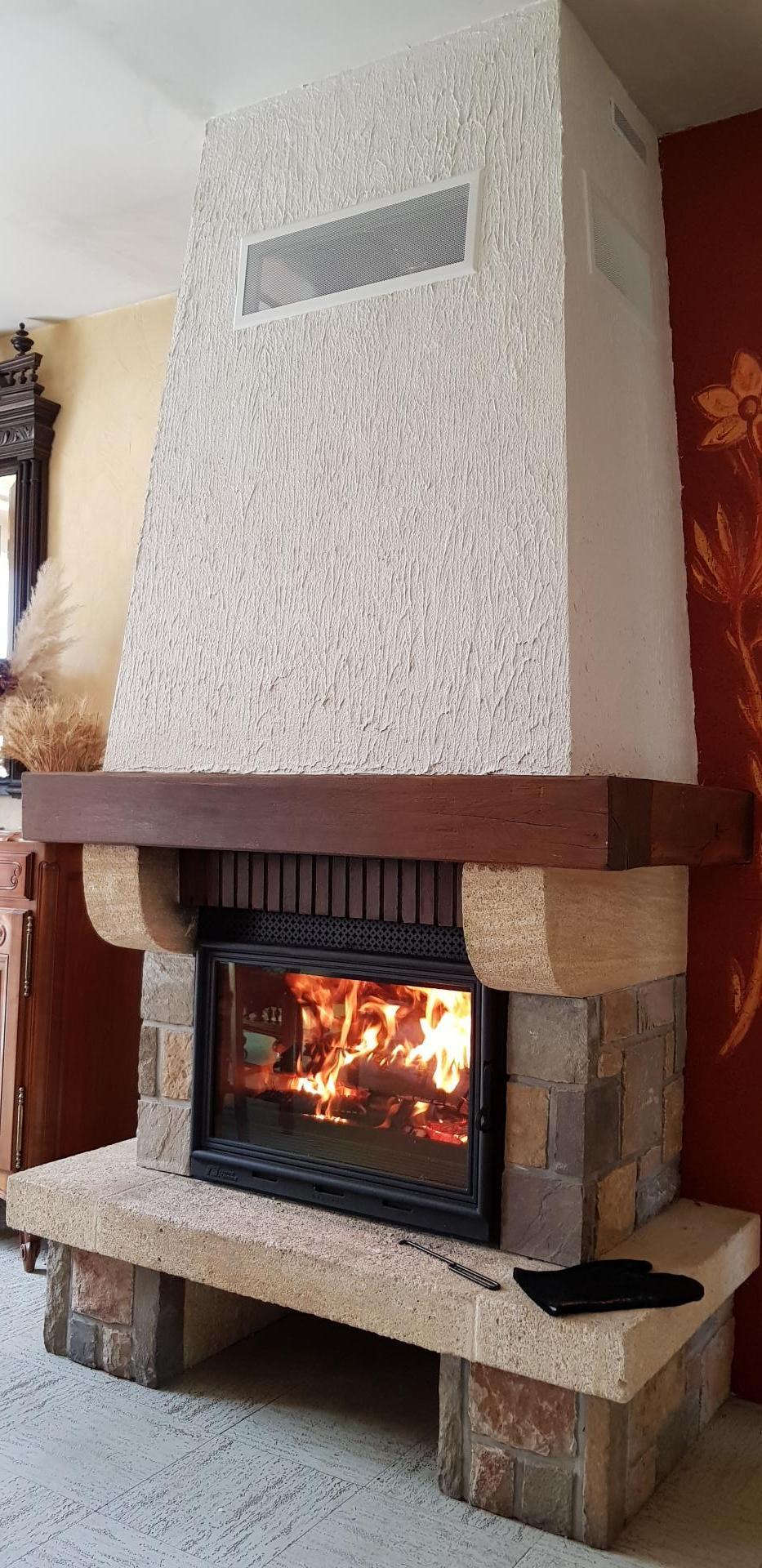 Rénovation avec Foyer VISION 700 FONTEFLAMME
