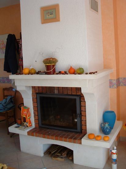 photo chemine 26. Black Bedroom Furniture Sets. Home Design Ideas
