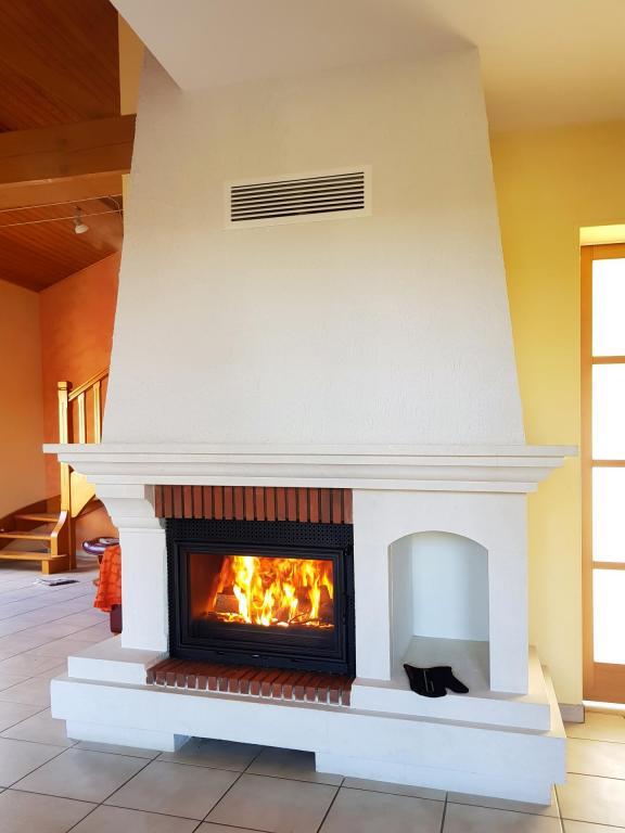 Rénovation complète avec foyer Fonteflamme Vision 700