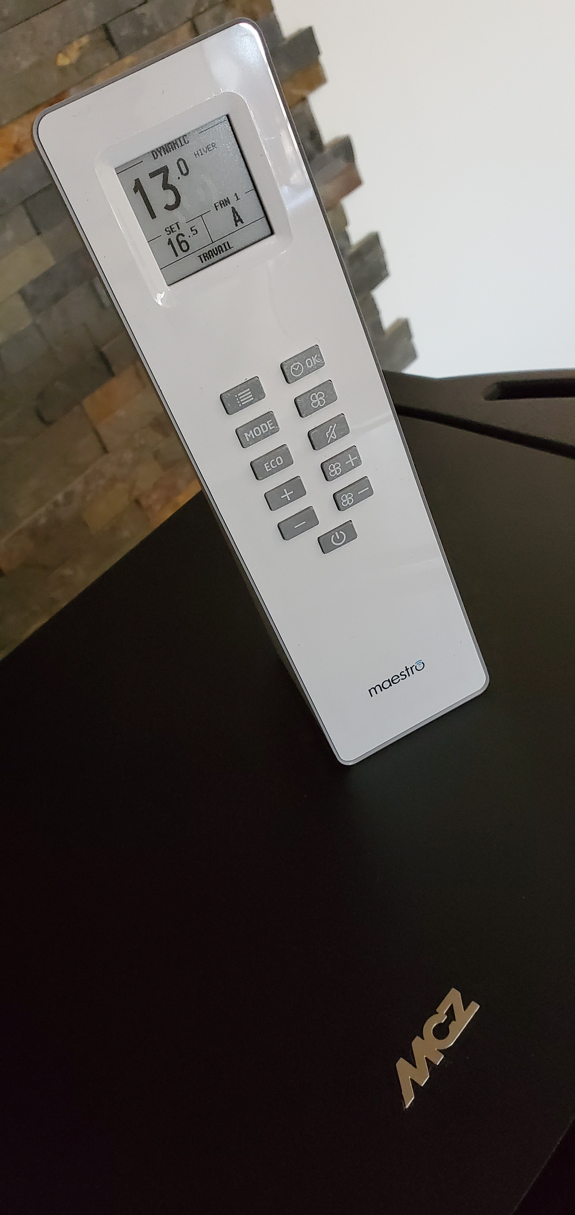 Télécommande thermostatique MCZ Maestro