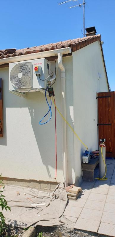 Habilité à la manipulation des gaz (R32, 410, etc)
