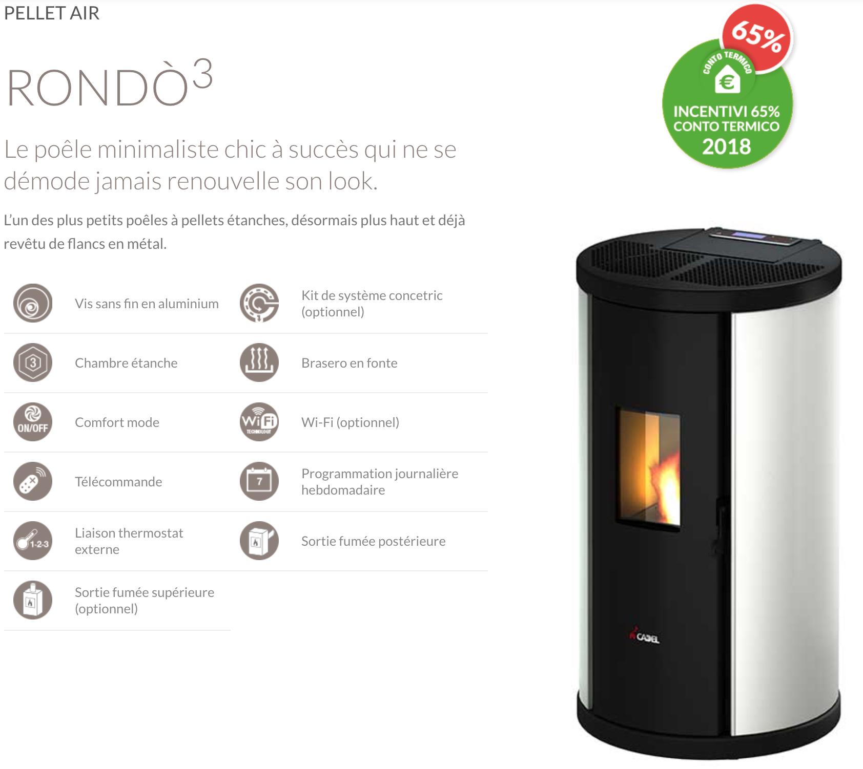 Cadel Rondo 6,5kW