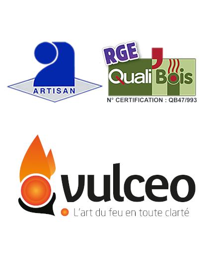 Logo artisan rge vulceo